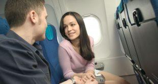 Harrastimme seksiä lentokoneessa - Erootinen seksinovelli
