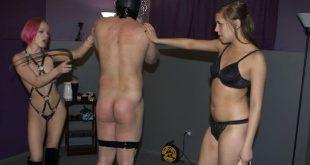 Mies orja sai kovan käsittelyn kahdelta nartulta - BDSM ja Fetissi novellit