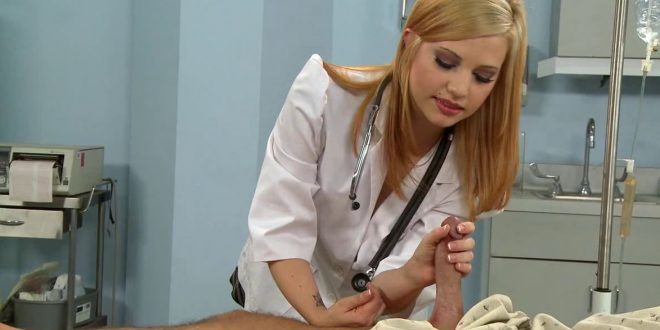 Nuoren sairaanhoitajattaren tissit tutisivat vispauksen tahdissa ja kasvot punottivat kuin kielletyistä leikeistä kiinni jääneellä pikkutytöllä. Sairaanhoitaja lypsi käsin spermat ulos kovasta mulkustani. Pornonovellit Suomesta